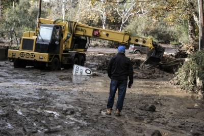 A California affluent community reels from deadly mudslides
