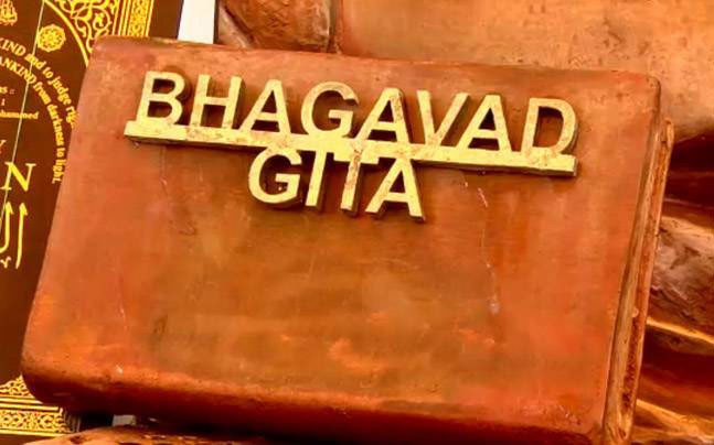 OMG! Bhagwad Gita costing Rs 38000 each gifted to VVIPs for
