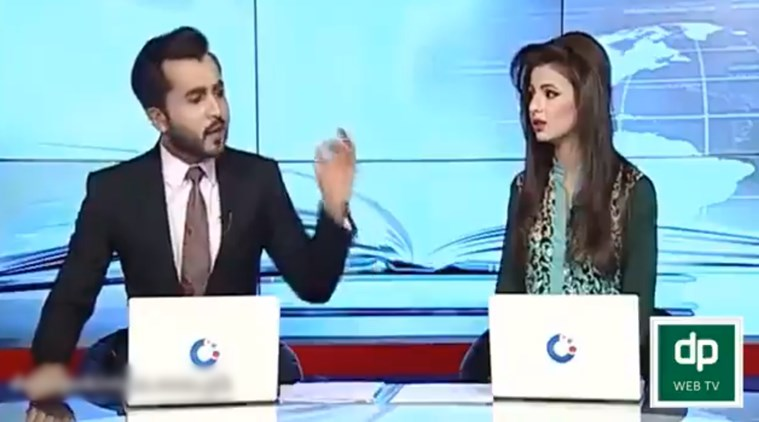 Off-air cat-fight between two Pakistani news channel anchors leaked