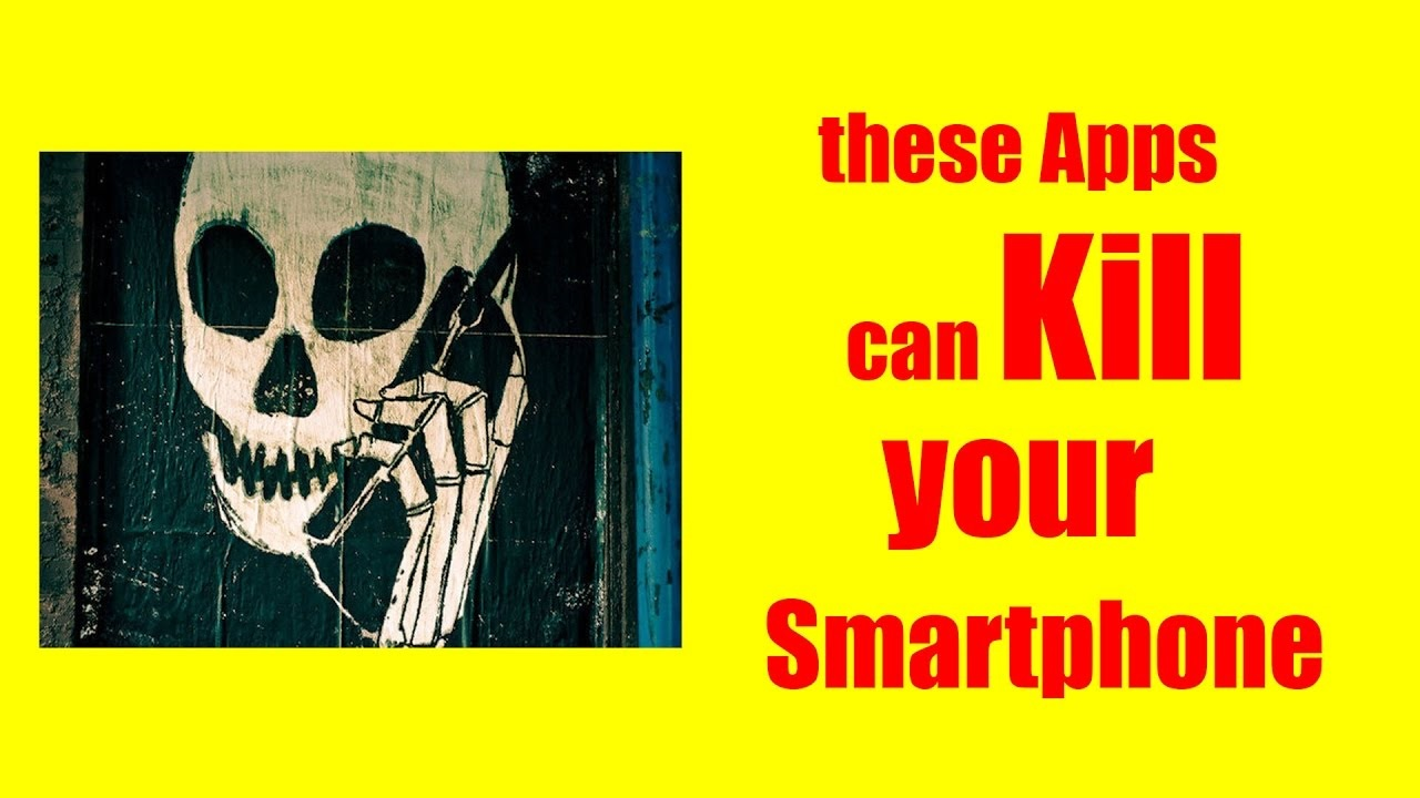 These smartphone apps are literally destroying your phones