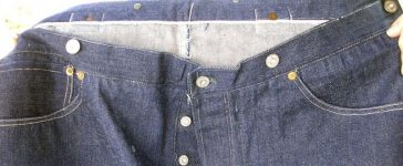 Vintage denim jeans, 125-year-old jeans, Levi Strauss, Auction house, Maine, United States, Weird news, Offbeat news