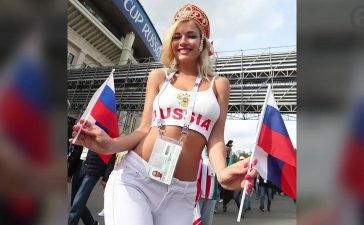 Porn Star, Adult movie star, X-rated films, Pornographic film, Natalya Nemchinova, Russian football fan, Russian hottest football fan, Football World Cup 2018, Soccer World Cup, Sports news