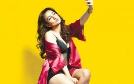 Actress Neha Sharma caught with Selfie having Sex Toy