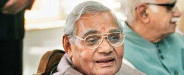 Atal Bihari Vajpayee, Former Prime Minister of India, Bhartiya Janata Party, BJP, Saffron party, National news, Politics news