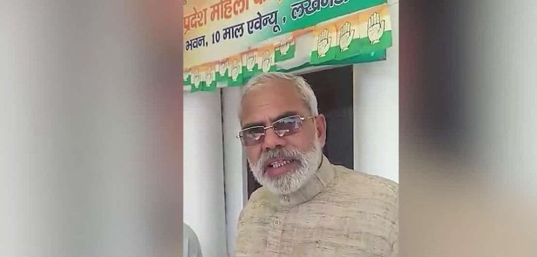 Narendra Modi, Abhinandan Pathak, Narendra Modi look alike, Lok Sabha elections 2019, Lok Sabha polls 2019, Prime Minister, Bhartiya Janata Party, Saffron party, Congress Party, UPCC headquarters, Politics news