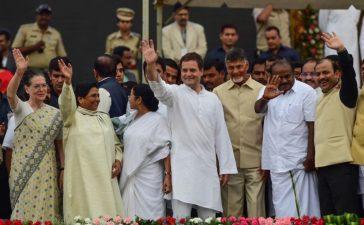 Mahagathbandhan, Grand Alliance, Congress, Bhartiya Janata Party, Samajwadi Party, Bahujan Samaj Party, Narendra Modi, BJP government, Lok Sabha polls, Lok Sabha elections, Akhilesh Yadav, Mayawati, Ajit Singh, Hindi heartland, National news, Politics news