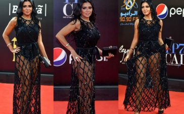 Egyptian actress, Rania Youssef, Cairo International Film Festival, Egyptian actress could be jailed for revealing legs, Egyptian actress could be jailed for exposing legs, Public obscenity, Red carpet, Egypt, Weird news, Offbeat news, Entertainment news, World news