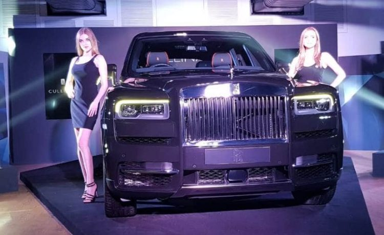 Rolls Royce Rolls Out World S Most Luxurious Car Cullinan At Rs 6 95