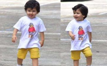 Photo de Saif Ali Khan & son fils Taimur Ali Khan Pataudi