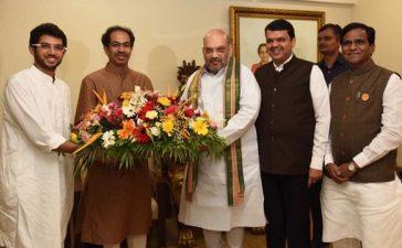 Shiv Sena, Bhartiya Janata Party, Uddhav Thackeray, Devendra Fadnavis, Amit Shah, Lok Sabha polls, Lok Sabha elections, Assembly polls, Maharashtra Chief Minister, BJP President, National news, Politics news