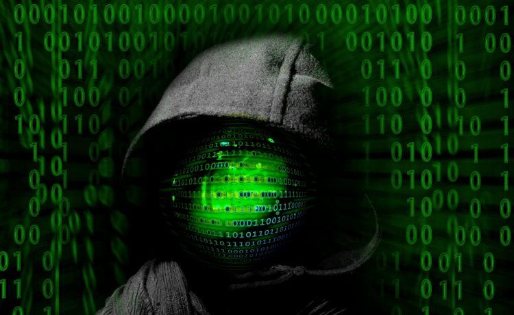 Cyber criminals accessing confidential data of server and clients